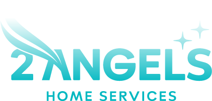 2 Angels Home Services Logo Footer